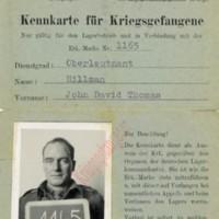 J. D. T. Hillman PoW ID Card