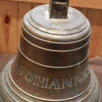 Bell from the Emigrant Prussian ship the Johannes which went aground in Newark Bay 26th March 1861  is  in copyright