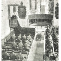 2 Officers attending the funeral of DF Cavaye . Died on 21.06.1941 in a German Hospital, was a POW at Oflag VB.  is  in copyright